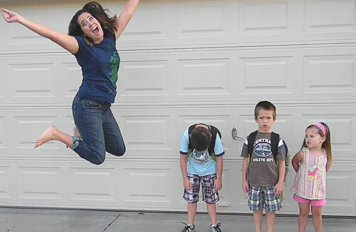Back to school is great for parents