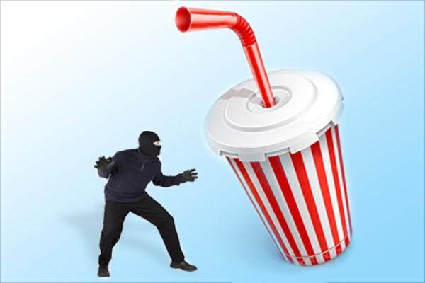 burglar cup