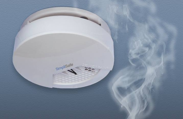 Smoke Detector In Action