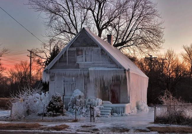 icy vacation home