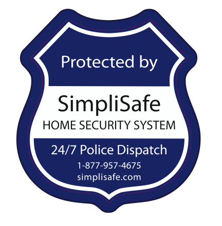 Opinion Poll New Window Decal And Yard Sign Mockups Home Security - Window decals for home security