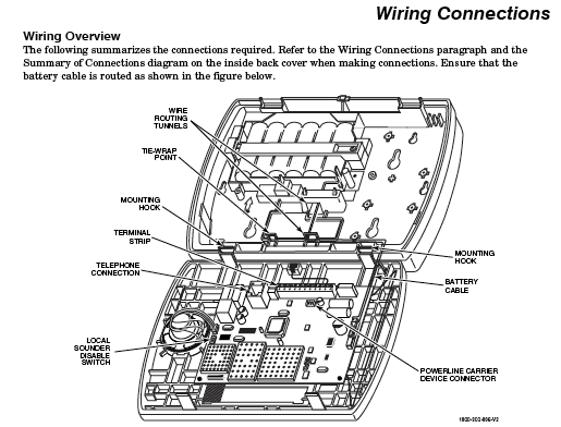 honeywell_wiring_connections honeywell home security engineer tackled by 200 page manual honeywell alarm system wiring diagram at mifinder.co