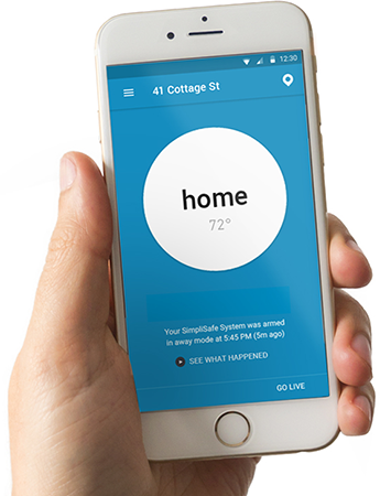 Gain total control of your SimpliSafe wireless home securty system with the free SimpliSafe app