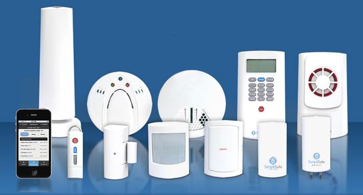 Economy Security System 7 Pieces Wireless Alarm