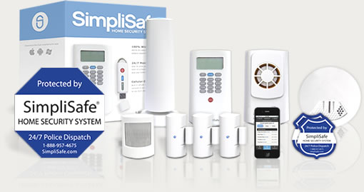 Classic security system package from SimpliSafe