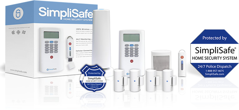 Economy security system package from SimpliSafe