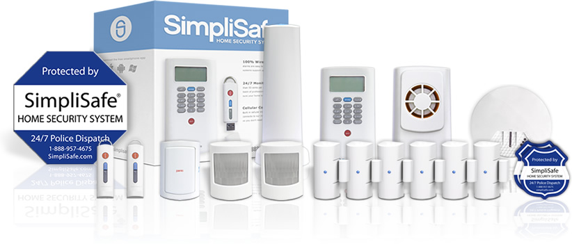 Master security system package from SimpliSafe