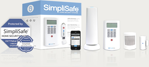 starter security system package from SimpliSafe