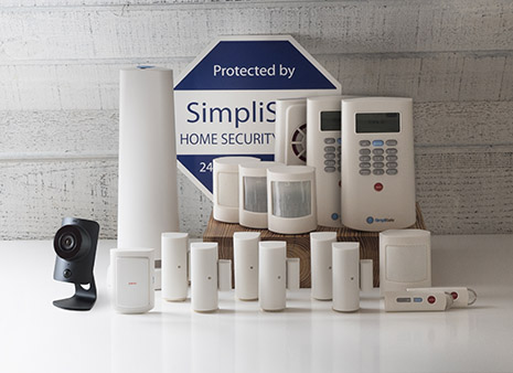 the leader security system 18 pieces wireless home security systems. Black Bedroom Furniture Sets. Home Design Ideas