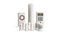 old the essentials security system 9 pieces home security system. Black Bedroom Furniture Sets. Home Design Ideas