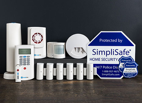 master security system 14 pieces wireless home security systems. Black Bedroom Furniture Sets. Home Design Ideas