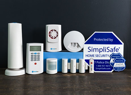 old classic security system 9 pieces wireless alarm system. Black Bedroom Furniture Sets. Home Design Ideas