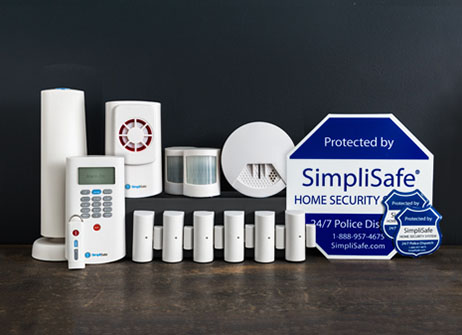 old master security system 14 pieces home security systems. Black Bedroom Furniture Sets. Home Design Ideas