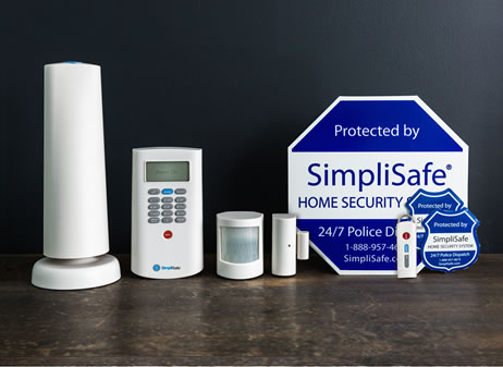 old starter security system 5 pieces wireless security system. Black Bedroom Furniture Sets. Home Design Ideas