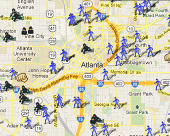 Atlanta Sex Offender Map