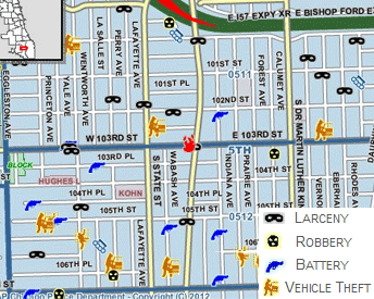 Home Security Chicago IL Wireless Home Security Systems - Chicago map crime