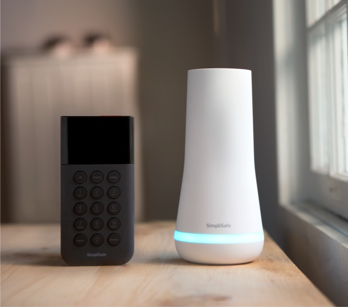 SimpliSafe Base Station and Keypad