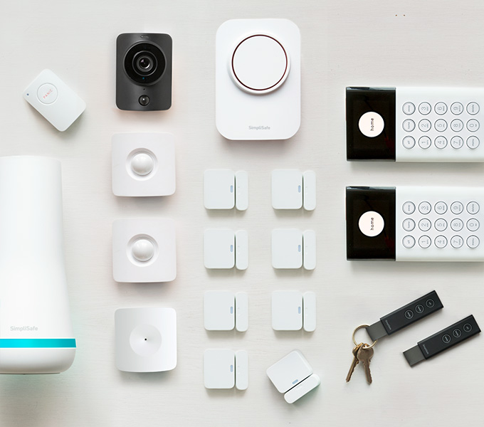 SimpliSafe Summerfort  Home Security System