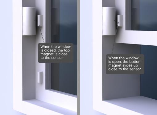 Extra Magnet For Entry Sensor Slim Home Alarm Systems