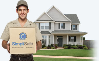SimpliSafe is delivered straiht to your door