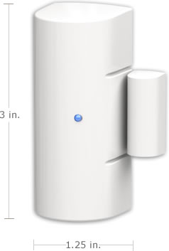 SimpliSafe entry sensors protect your windows and doors
