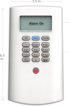 The SimpliSafe keypad is the safest in the industry