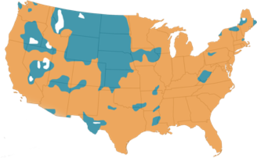 SimpliSafe Cellular Coverage Map
