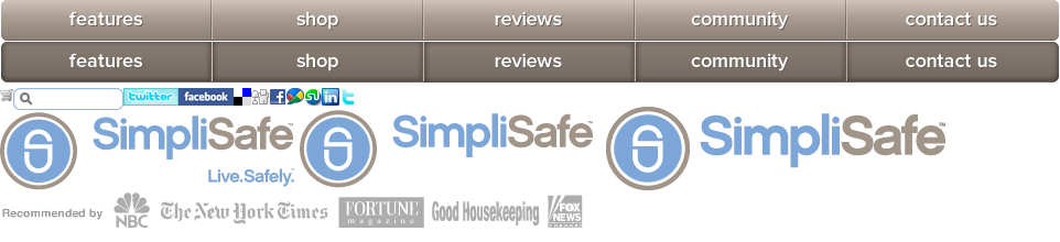 The SimpliSafe Home Security System has been reviewed in Good Housekeeping, the Clark Howard Show, Fox News, NBC, the New York Times