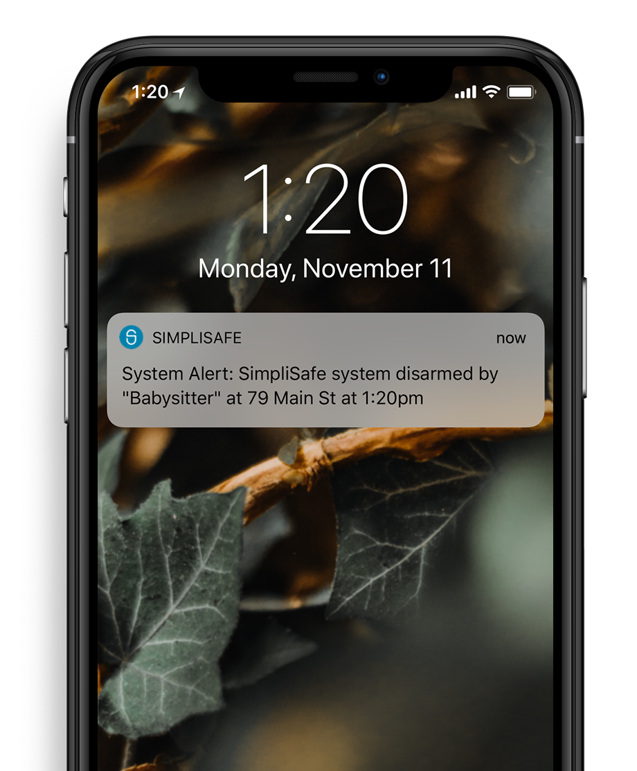 Get notified when your system detects activity