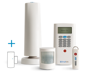 Starter security system 6 pieces wireless security system extreme range and customizable system solutioingenieria Gallery
