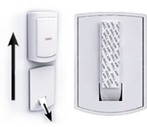 SimpliSafe Sensors are easy to re-install with 3M command strips