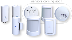 SimpliSafe Wirelss water, freeze, entry, motion, glassbreak, smoke and CO2 sensors and wireless panic button